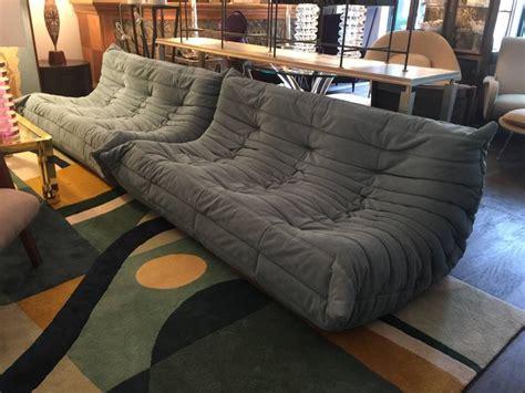sofá togo original original 1980s ligne roset togo five pieces sofas
