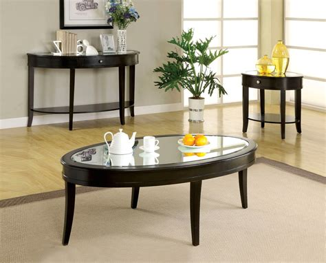 accent table ls contemporary silver mist contemporary dark walnut accent tables cm4950