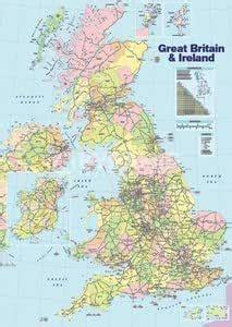amazoncom  space uk map  great britain uk england