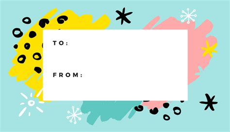 gift tags maker design  custom gift tag canva