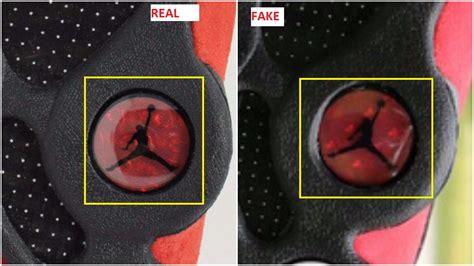 fake air jordan  black red bred spotted quick ways  identify  housakicks