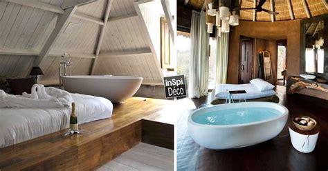 une baignoire dans la chambre à coucher 26 exemples