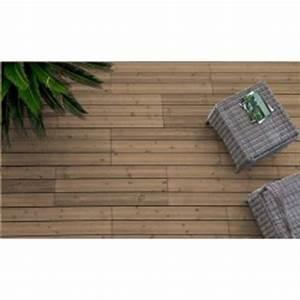 Dalle Terrasse Clipsable : dalle bois pour terrasse et jardin ~ Melissatoandfro.com Idées de Décoration