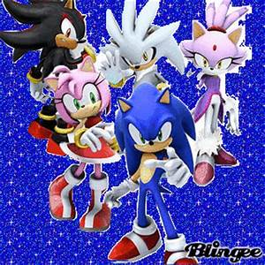 Sonic, Shadow, Amy Rose, Silver and Blaze Picture ...