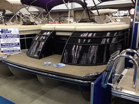 Fort Wayne Boat Show by 2014 Fort Wayne In Boat Show Pontoon Forum Gt Get Help