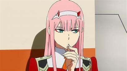 Zero Anime Eyes Darling Franxx Pink Hair