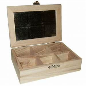Petite Boite En Bois : petite boite a bijoux en bois a d corer kit creation vente ~ Dailycaller-alerts.com Idées de Décoration