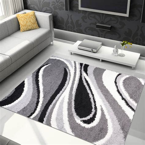 small extra large soft pile thick shaggy area floor rugs
