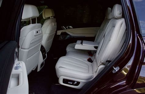 There's hard scratchy plastic on the lower half of the doors and the plastic that houses the seats does not line flush. 2020 BMW X7 M50i vs 2020 Mercedes-Benz GLS 580 SUV Comparison | Driving