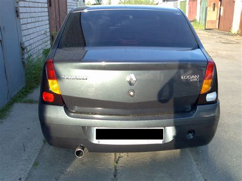 renault logan trunk my perfect renault logan 3dtuning probably the best car