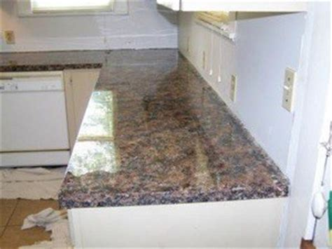 home and insurance photos of painted laminate countertops