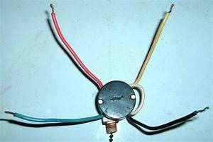 3 Speed 4 Wire Ceiling Fan Switch