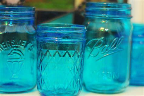 diy colored glass jars cafemom