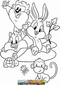 Looney Tunes Characters Pages Coloring Pages