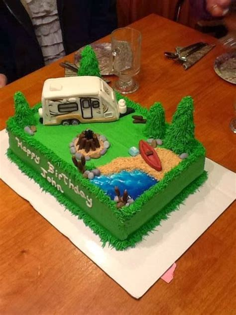 learn  rv camping themed birthday cake roo