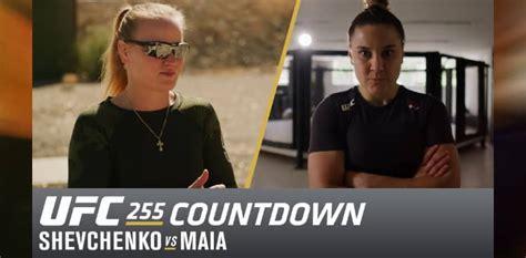UFC 255 Countdown: Valentina Shevchenko vs. Jennifer Maia ...
