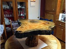 Sinker cypress coffee table on cypress knee for sale 985