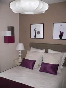 Chambre Couleur Taupe Et Beige. chambre deco photo deco chambre ...