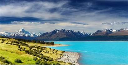 Zealand Mountains River 5k Resolution