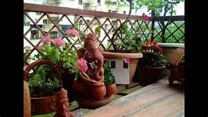 [Garden Ideas] Small balcony garden ideas - YouTube