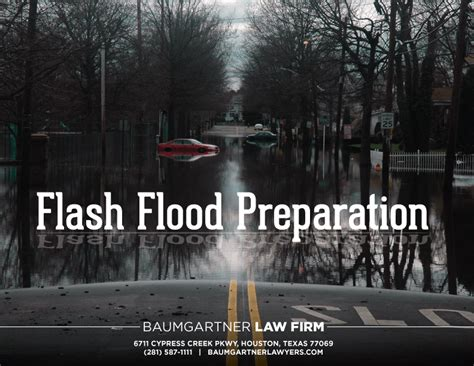 What You Need To Know About Flash Flood Preparation