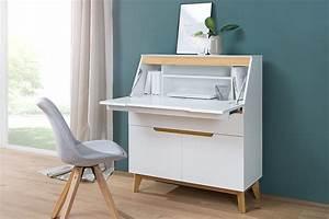 Sekretär Modern Design : design sekret r cervo edelmatt wei absetzungen eiche ~ Watch28wear.com Haus und Dekorationen