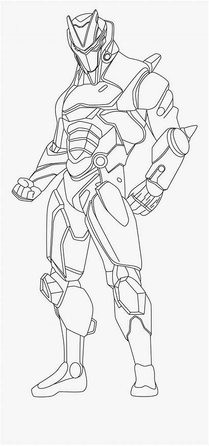 Fortnite Coloring Pages Clipart Omega Clipartkey