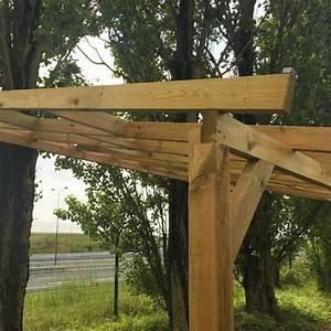 Toit En Bois : pergola en bois avec ou sans toit en polycarbonate ~ Melissatoandfro.com Idées de Décoration