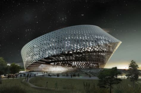Big New National Library In Astana, Kazakhstan