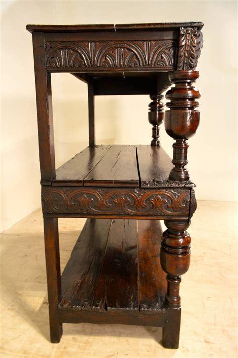 century english oak court cupboard  sale  stdibs