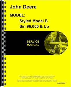 John Deere B Tractor Service Manual