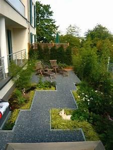 Kleiner schmaler garten bilder und beispiele zur for Garten planen mit sonnenmarkise für balkon