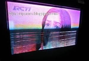 Tv Sharp Alexander Slim Gambarnya Bergaris-garis