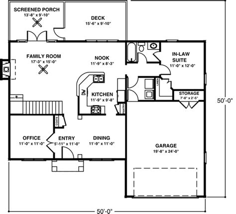 colonial style house plan    bed  bath  car garage house plans colonial house