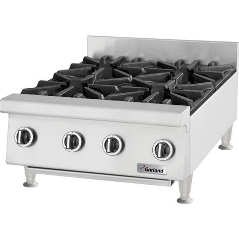 "Natural Gas Garland Gtog122 2 Burner 12"" Countertop Range"