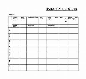 blood sugar log pdf With blood sugar log book template