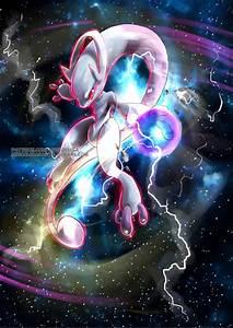 Mega Mewtwo Art