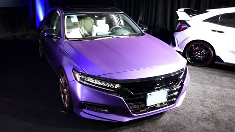 New Custom 2019 Honda Accord Sedan
