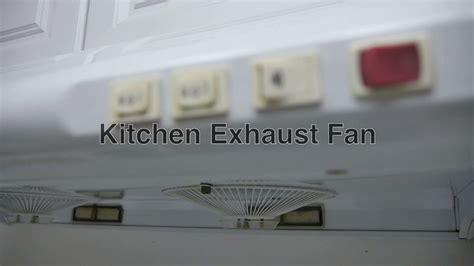kitchen exhaust fan hood  vent cooktop stove smoke