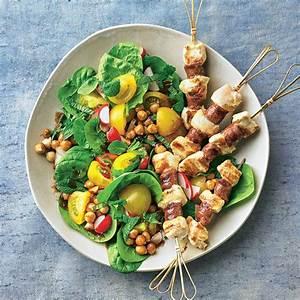Salat Mit Spinat : spinat minz salat mit merguez spie en ~ Orissabook.com Haus und Dekorationen