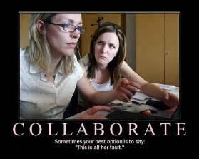 Demotivational Collaboration