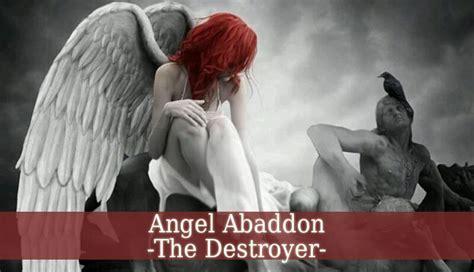 angel abaddon  destroyer demon guardian angel guide