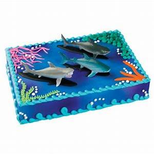 Bakery Crafts Sharks Cake Topper: Amazon ca: Home & Kitchen