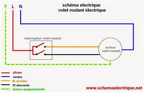 schema electrique volet roulant brico pinterest