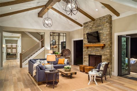 House Plans With Gorgeous Great Rooms  The House Designers