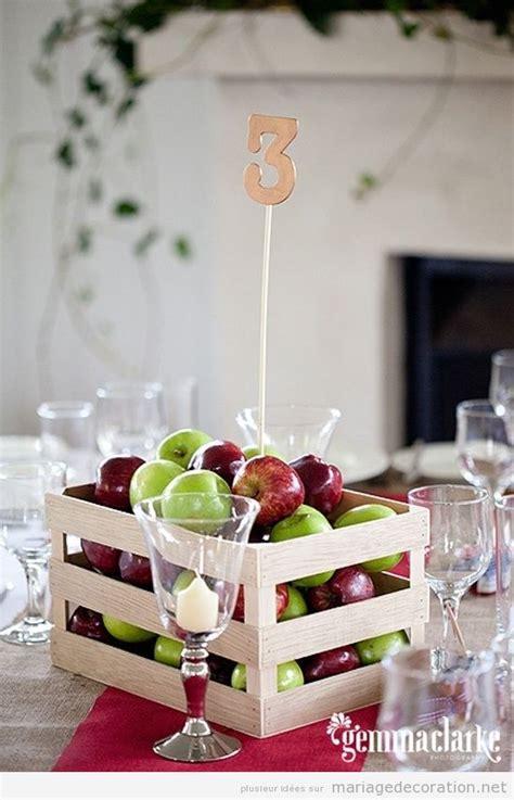 idees centre de table mariage original bo 238 tes de pommes id 233 e original pour d 233 corer un centre