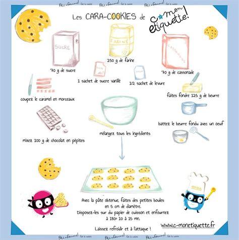 plats cuisines les cara cookies c monetiquette recette cuisine