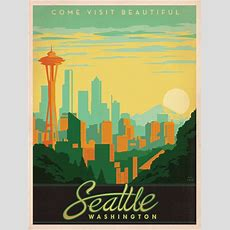 Flyer Goodness Classic American Travel Posters By The