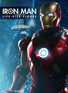 Avengers Movie - Iron Man Mark VII Life Size Statue | Ikon ...