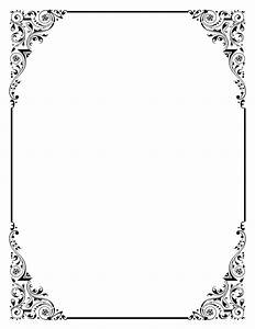 Photoshop clipart wedding page border - Pencil and in